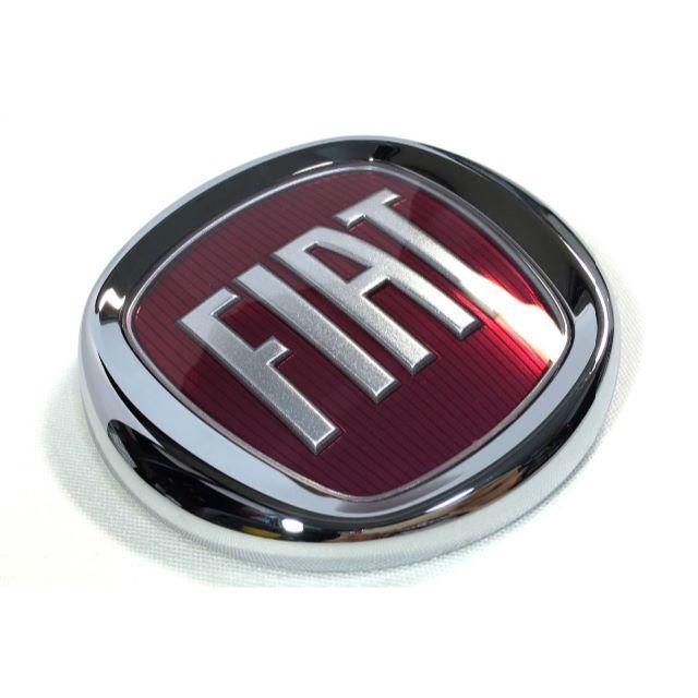 【新品】フィアット FIAT リアエンブレム プレート 500 純正 自動車/バイクの自動車(車種別パーツ)の商品写真