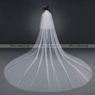 ✾高品質✾ウエディングベール✾ロングベール✾360cm*横幅300cm✾MLU(ウェディングドレス)