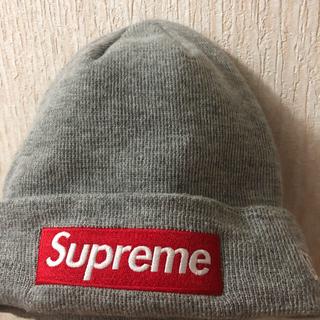 シュプリーム(Supreme)のsupreme new era ボックスロゴ ニット帽(ニット帽/ビーニー)