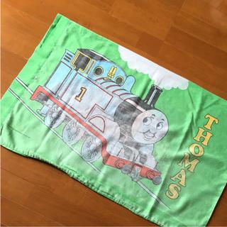 トーマス  枕カバー グリーン ビンテージ(シーツ/カバー)