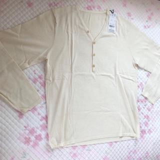 ニジュウサンク(23区)のk様専用 23区 HOMME 薄手セーター 綿+カシミヤ(Tシャツ/カットソー(七分/長袖))