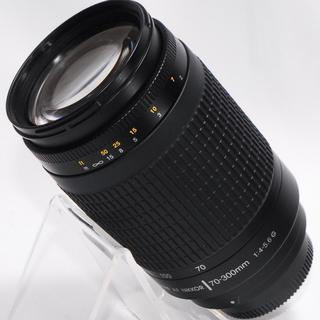 ニコン(Nikon)の⭐もっと遠くへ⭐Nikon 70-300mm 大迫力の超望遠レンズ・美品(レンズ(ズーム))
