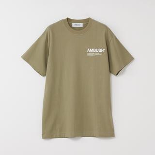 アンブッシュ(AMBUSH)のAMBUSH 18aw tシャツ オリーブ(Tシャツ/カットソー(半袖/袖なし))