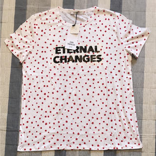 ザラ(ZARA)のZARA水玉T♡新品未使用♡L size(Tシャツ/カットソー(半袖/袖なし))