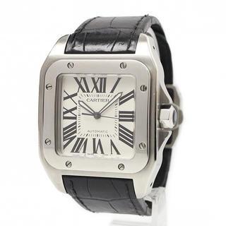 カルティエ(Cartier)のカルティエ サントス 100 LM 付属品完備(腕時計(アナログ))