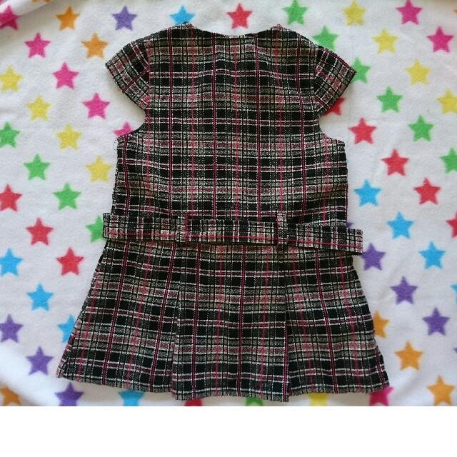 2c9f46f69dd84 ベビー・子供 キッズ 女の子 オシャレワンピース95 キッズ ベビー マタニティのキッズ服