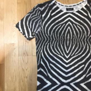 ザラ(ZARA)のzara ゼブラ シマウマ 柄 tシャツ(Tシャツ/カットソー(半袖/袖なし))