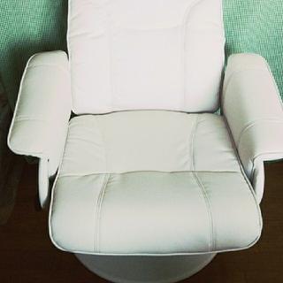 リクライニングチェア 回転椅子(リクライニングソファ)