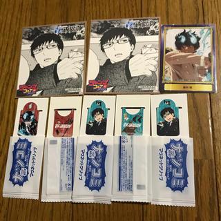 シュウエイシャ(集英社)の青の祓魔師 アニメイト 特典 ミニ色紙 2 SCFカード マグネットクリップ 5(カード)
