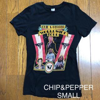 チップアンドペッパー(CHIP AND PEPPER)の☆CHIP&PEPPER チップ&ペッパー ロックT Sサイズ☆(Tシャツ(半袖/袖なし))