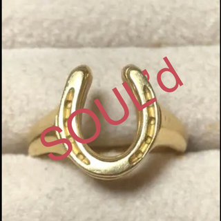 k18  ホースシュー リング(リング(指輪))
