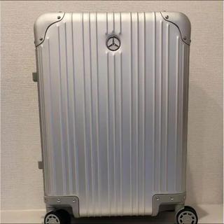 【新品未開封】メルセデス・ベンツ アルミ スーツケース(トラベルバッグ/スーツケース)