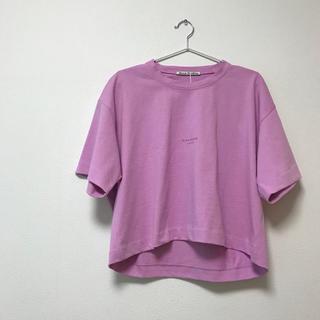 アクネ(ACNE)のAcne Studios Cylea Cropped Tee クロップドTシャツ(Tシャツ(半袖/袖なし))