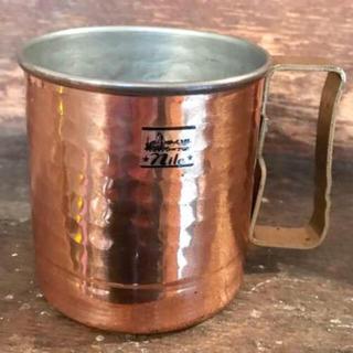 * ブロカントな銅MUG 銅マグ *(グラス/カップ)