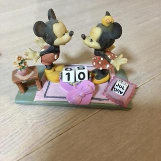ディズニー(Disney)の万年カレンダー(置物)
