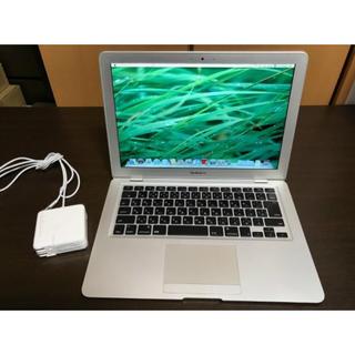 マック(Mac (Apple))のMacBook air 美品(ノートPC)
