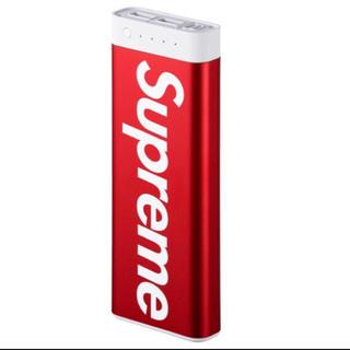 シュプリーム(Supreme)のシュプリーム モバイルバッテリー(バッテリー/充電器)