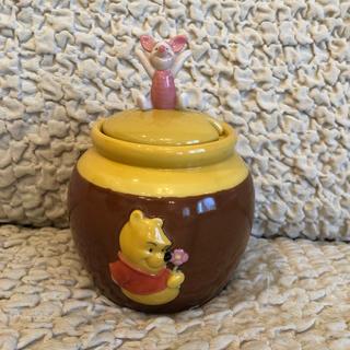 ディズニー(Disney)のディズニーランド購入*くまのプーさん 陶器入れ物(置物)