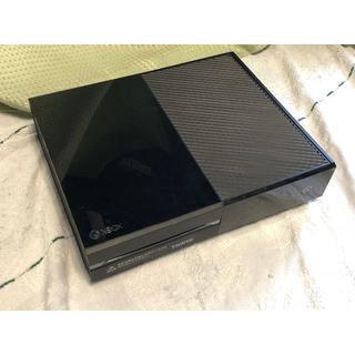 エックスボックス(Xbox)のXBOX ONEソフト2本付(家庭用ゲーム機本体)