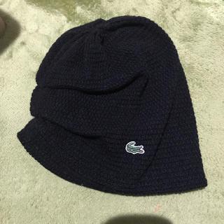 ラコステ(LACOSTE)のラコステ(ニット帽/ビーニー)
