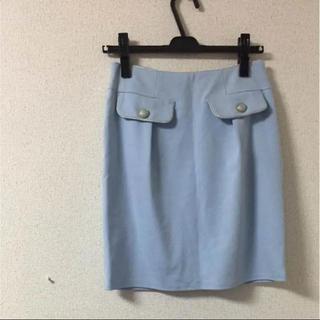 アストリアオディール(ASTORIA ODIER)のバックリボンスカート(ひざ丈スカート)