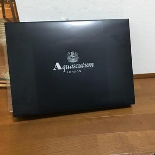 アクアスキュータム(AQUA SCUTUM)のaquascutum タオル セット(タオル/バス用品)