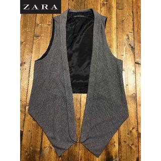 ザラ(ZARA)のZARA シンプルオシャレなジレ(ベスト)(ベスト/ジレ)