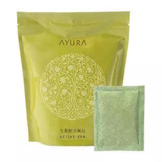アユーラ(AYURA)のアユーラ アクティブスパα 5回分セット 入浴剤 アクティブスパ(入浴剤/バスソルト)