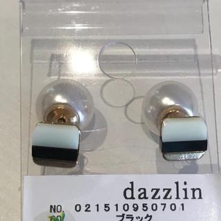 ダズリン(dazzlin)のdazzlin【新品】スクエアパールキャッチピアス(ピアス)