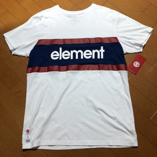 エレメント(ELEMENT)のELEMENT Tシャツ 新品 タグ付き 半袖 シャツ(Tシャツ/カットソー(半袖/袖なし))