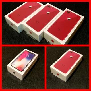 アイフォーン(iPhone)の専用【5台/SIMフリー/新品未使用】iPhone X iPhone8 Plus(スマートフォン本体)