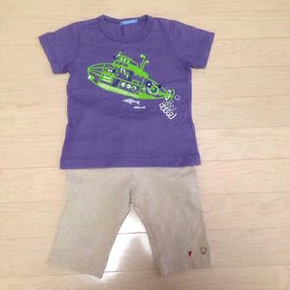 ファミリア(familiar)のファミリア Tシャツとハーフパンツ(Tシャツ(半袖/袖なし))