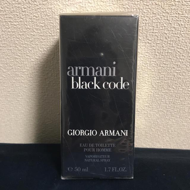 Armani(アルマーニ)のジョルジオ アルマーニ ブラックコード プールオム EDT SP 50ml コスメ/美容の香水(香水(男性用))の商品写真