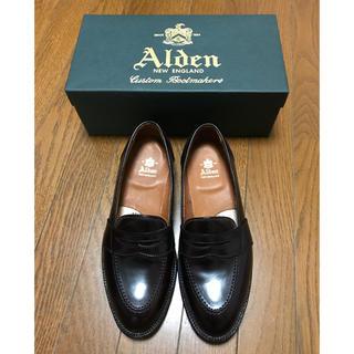 オールデン(Alden)の未使用 オールデン ローファー コードバン  (ドレス/ビジネス)