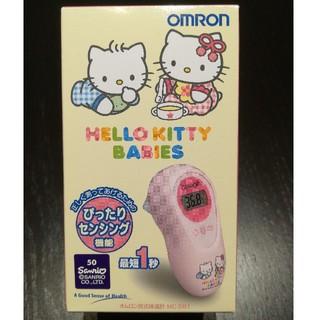 オムロン(OMRON)のオムロン 耳式体温計 MC-581  赤ちゃんの検温(その他)