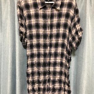 エーアンドジー(A&G)のA&Gシワ加工ネルシャツ(Tシャツ/カットソー(半袖/袖なし))