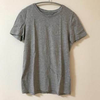 ムジルシリョウヒン(MUJI (無印良品))の【送料込み】無印良品 グレーTシャツ(Tシャツ(半袖/袖なし))