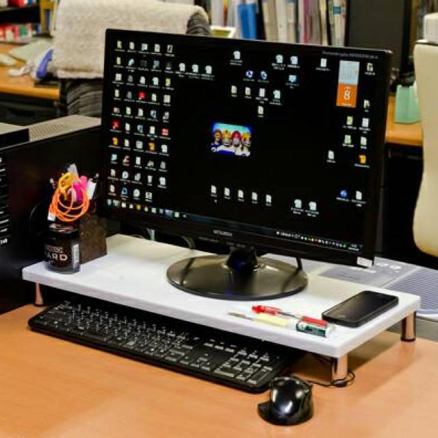 PCスタンドロータイプ インテリア/住まい/日用品の机/テーブル(オフィス/パソコンデスク)の商品写真