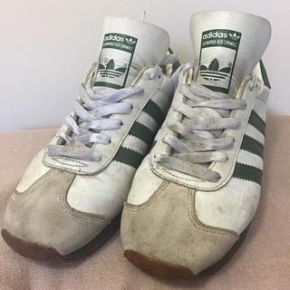 アディダス(adidas)のadidas アディダス カントリー 90年代物 カンガルーレザー?26位 箱付(スニーカー)