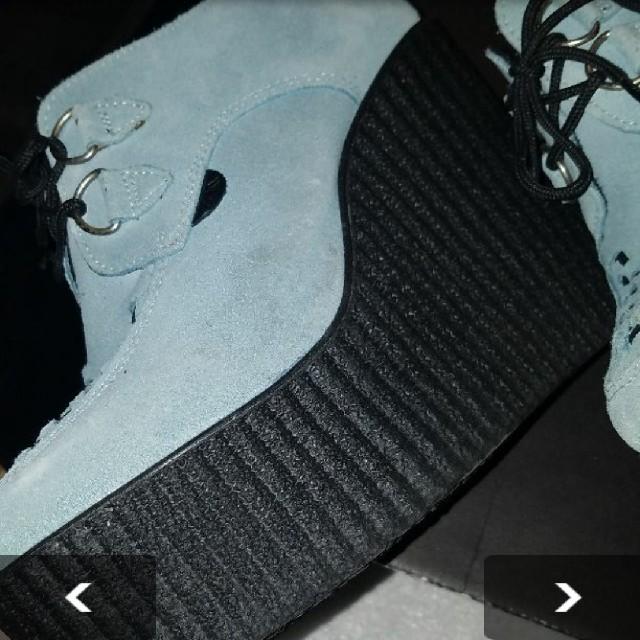 UNDERGROUND(アンダーグラウンド)のUNDERGROUND 厚底ラバーソール レディースの靴/シューズ(ブーツ)の商品写真