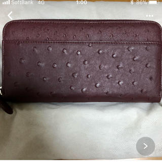 オーストリッチ(OSTRICH)の新品オーストリッチのお財布(財布)