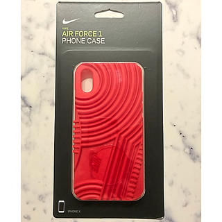 ナイキ(NIKE)のSALE✨新品✨正規品!NIKE☆iPhoneケース (レッド)(iPhoneケース)