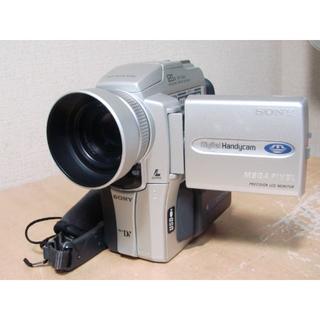 ソニー(SONY)のかわいいminiDVハンディカムDCR-PC110動作良好15(ビデオカメラ)