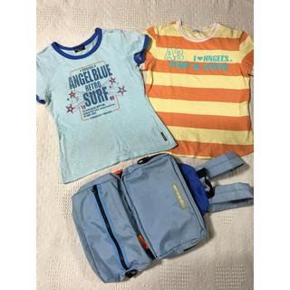エンジェルブルー(angelblue)のエンジェルブルー  キッズ  160cm Tシャツ リュック 三点セット(Tシャツ/カットソー)