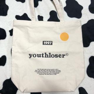 スタイルナンダ(STYLENANDA)のyouth loser  tote bag(トートバッグ)