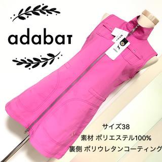 アダバット(adabat)のadabat ノースリーブ ワンピース ゴルフウェア(ウエア)