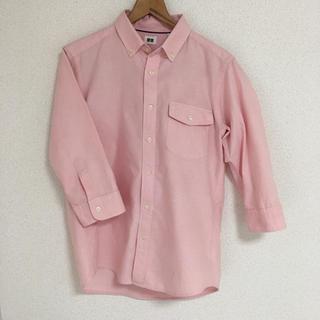 ユニクロ(UNIQLO)のユニクロ ボタンダウン 七分袖(Tシャツ/カットソー(七分/長袖))
