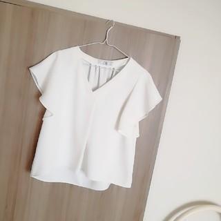 ノーブル(Noble)のNoble♡ノーブルSpicandSpan♡スピックアンドスパン袖フレアブラウス(シャツ/ブラウス(半袖/袖なし))