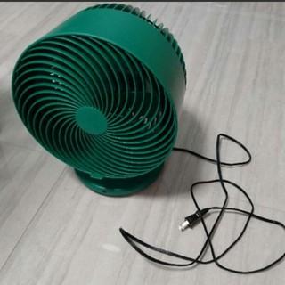 プラスマイナスゼロ(±0)の±0 サーキュレーター グリーン(サーキュレーター)