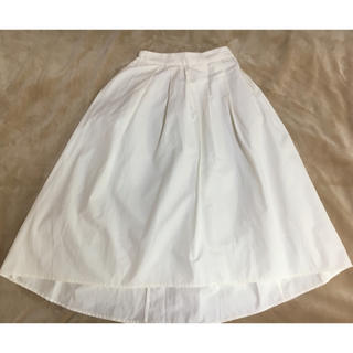 ジーユー(GU)のGU♡後ろ下がり スカート(ひざ丈スカート)